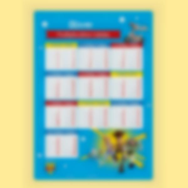educational poster time tables toy story 4 1