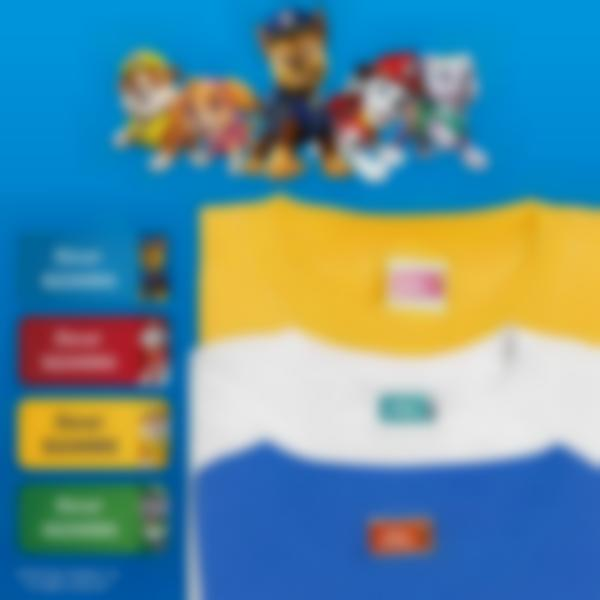ludilabel paw patrol clothing name labels ludisticks uk