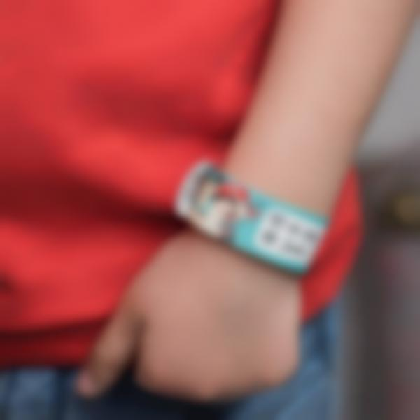 Reusable Child Id bracelet