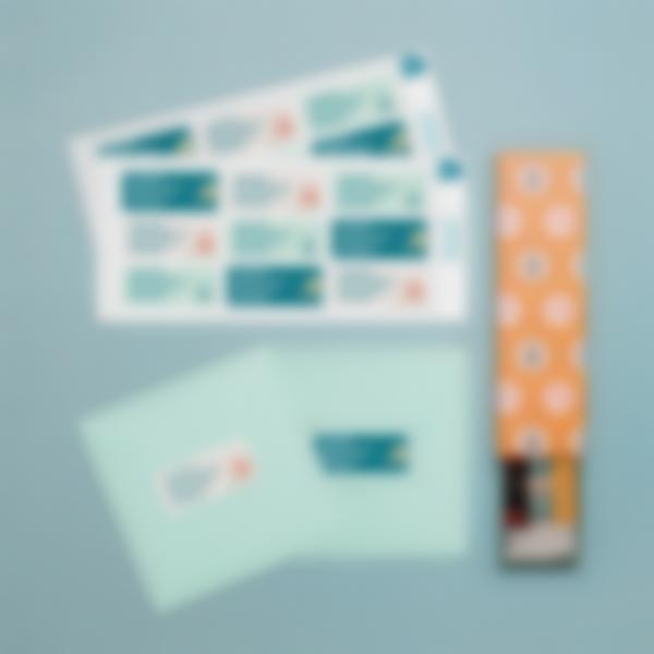Address Labels & Personalized Return Address Labels