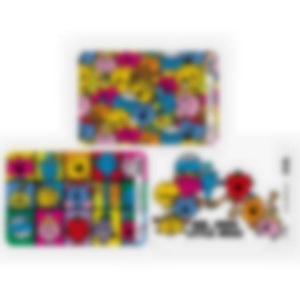 Set of 3 magnetic booster cards for the Ludibox - Lunch Box - Mr Men Little Miss