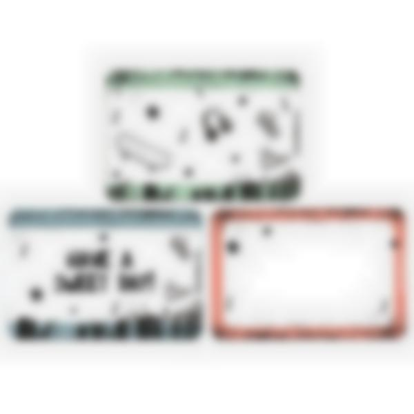 Set of 3 magnetic booster cards for the Ludibox - Lunch Box–Skate Culture